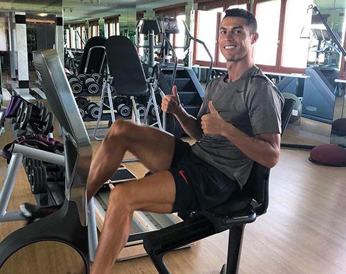 cr7 Cristiano Ronaldo, dopo l'esordio con la Juve si allena con Georgina