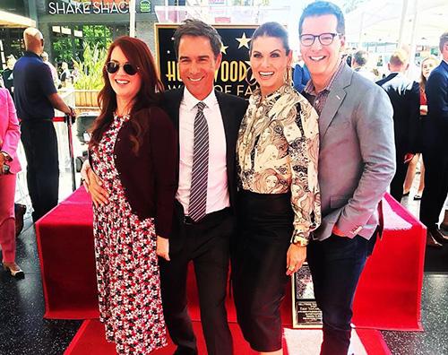 Eric McCormack Eric McCormack ha la sua stella sulla Walk Of Fame
