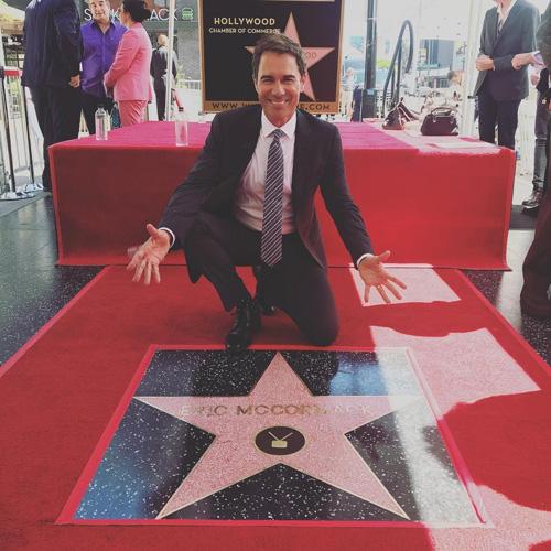 Eric McCormak Eric McCormack ha la sua stella sulla Walk Of Fame