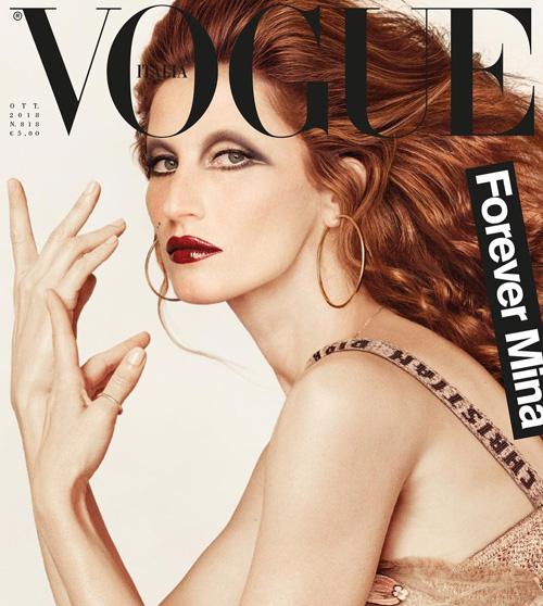 Gisele 2 Gisele Bundchen è Mina su Vogue Italia