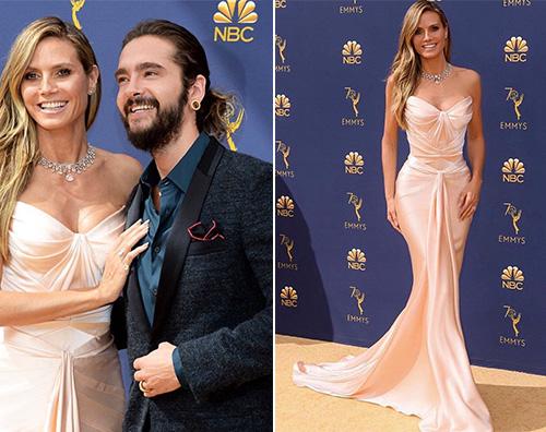 Heidi Klum Heidi Klum e Tom Kaulitz innamorati agli Emmy