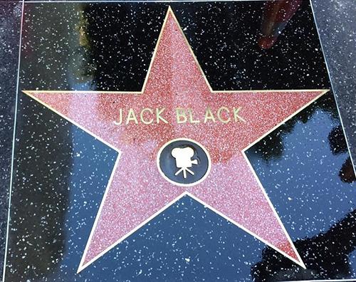 "Jack Black 1 Jack Black riceve la sua stella sulla ""Walk of Fame"""