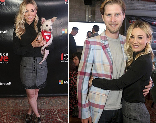 Kaley Cuoco Kaley Cuoco e Karl Cook stilosi a Los Angeles