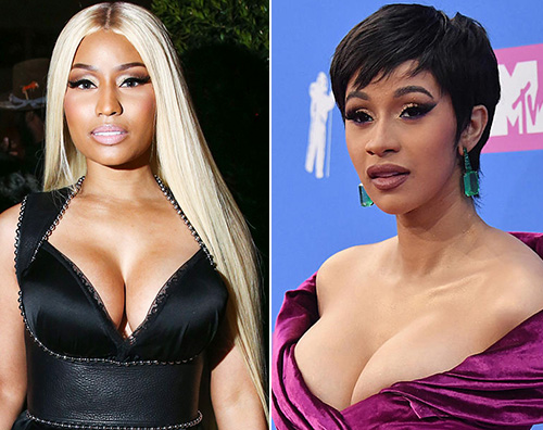 """Nicki Minaj Cardi B rissa harpers bazaar party Nicki Minaj: """"Il litigio con Cardi B è stato umiliante"""""""