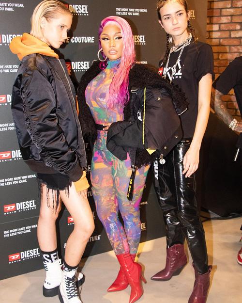 Nicki Minaj Milano Diesel Fashion Week TheGossipers 2 Nicki Minaj a Milano per Diesel