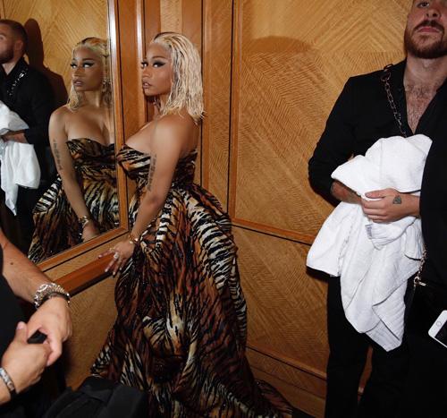 Nicki Minaj Cardi B e Nicki Minaj, litigio in pubblico alla NYFW