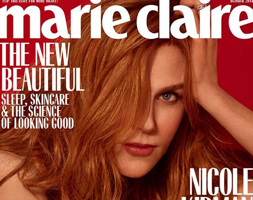 Nicole cover Nicole Kidman parla della sua sessualità su Marie Claire