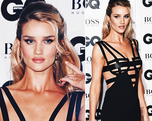 Rosie HW Rosie Huntington Whiteley hot ai GQ Man of the Year