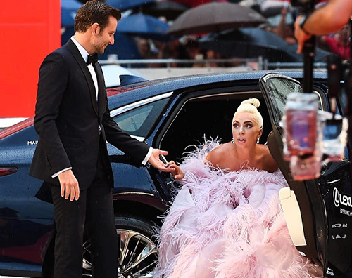 venezia 7 Lady Gaga ha ricevuto la nomination ai Golden Globes