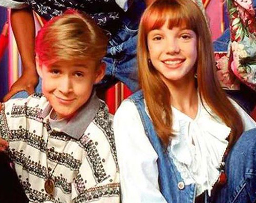 Baby Britney e Ryan Ryan Gosling e Britney Spears, reunion da Ellen DeGeneres