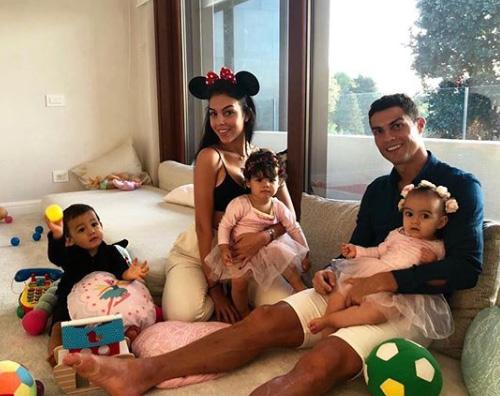 CR7 Cristiano Ronaldo sereno grazie alla sua famiglia