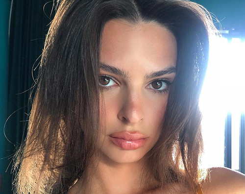 Emily Rata Emily Ratajkowski, bikini hot sui social