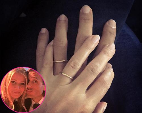 Gwyneth Paltrow Gwyneth Paltrow è una donna sposata