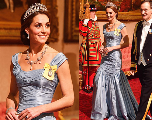 Kate Middleton 3 Kate Middleton elegantissima per la cena con i reali dOlanda