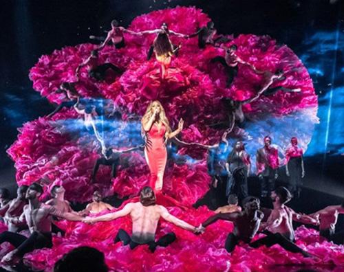 Mariah Carey 3 Mariah Carey, una venere sexy sul palco degli AMAs 2018