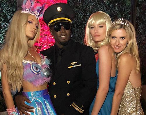 Paris vs Nicky 2 Nicky Hilton copia il look di Paris per Halloween