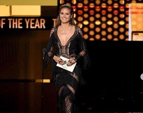 Heidi Klum 2 Heidi Klum hot agli AMAs 2018