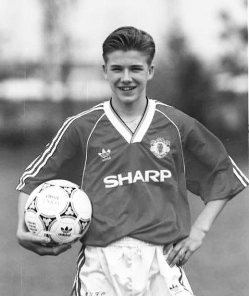 David Beckham bambino David Beckham, ecco comera da bambino