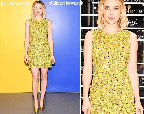 Emma Roberts Emma Roberts stilosa a NY