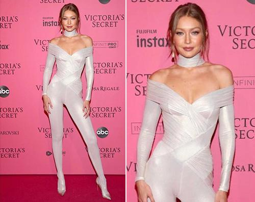 Gigi Hadid 1 Gigi Hadid è hot sul pink carpet del VS Fashion Show