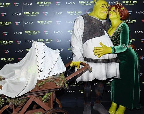 Heidi Klum 1 Heidi Klum è Fiona per Halloween