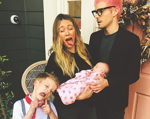 Hilary Duff 1 Hilary Duff, foto di famiglia