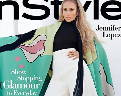 Jlo 2 Jennifer Lopez posa senza veli per InStyle Magazine