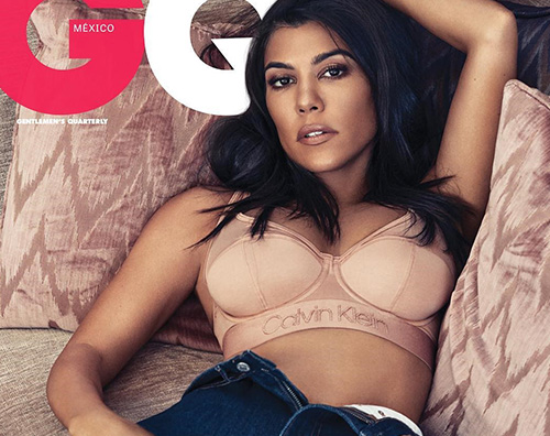 Kourtney Kardashian GQ MEX 2 Kourtney Kardashian è bollente su GQ Messico