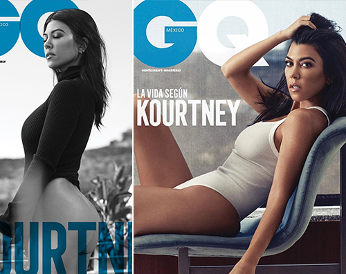 Kourtney Kardashian GQ MEX Kourtney Kardashian è bollente su GQ Messico