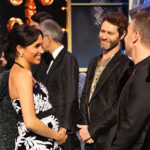 Meghan Harry 2 150x150 Meghan Markle sfoggia il pancino al Royal Variety Performance