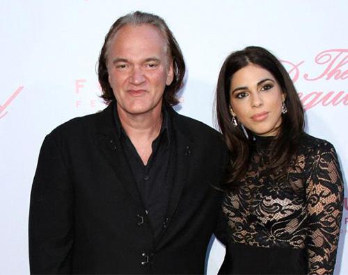 Quentin Daniella Quentin Tarantino è un uomo sposato!
