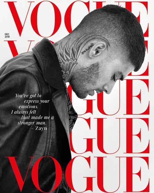 Zayn Malik Zayn Malik conquista la cover di British Vogue