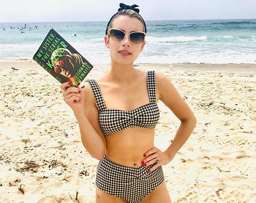 Emma Roberts La prova costume di Emma Robets
