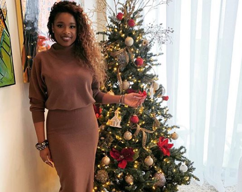 Jennifer Hudson Jennifer Hudson ha fatto lalbero di Natale