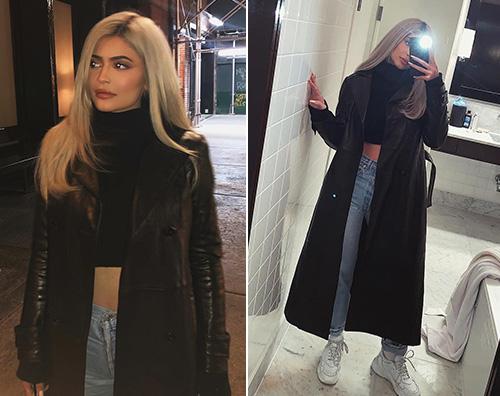 Kylie Jenner Kylie Jenner stilosa a New York