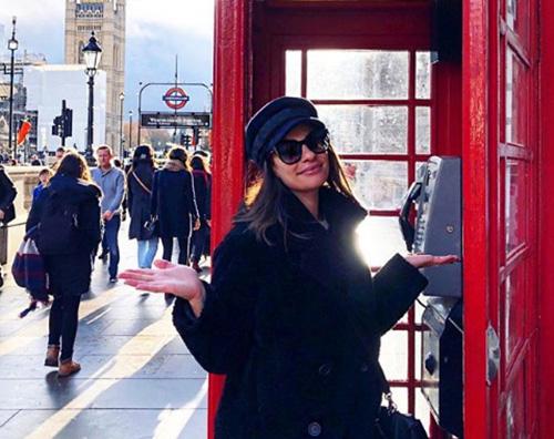 Lea Michele Lea Michele è arrivata a Londra