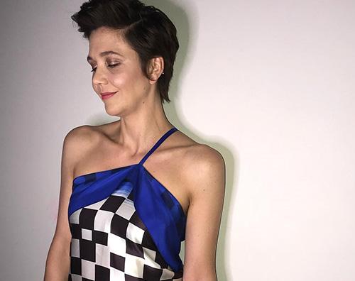 Maggie Gyllenhall 2 Maggie Gyllenhaal, look anni 80 su Instagram