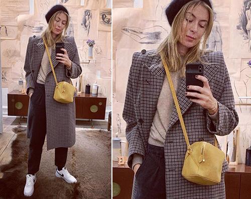 Maria Sharapova Mariah Sharapova è cool a New York