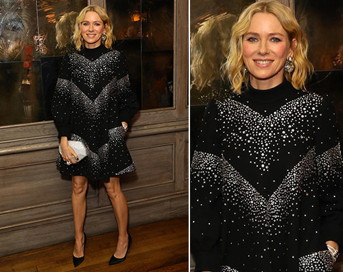 Naomi Watts Naomi Watts elegantissima ai British Fashion Awards