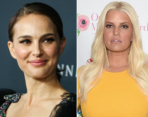 Natalie Portman Jessica Simpson Natalie Portman VS Jessica Simpson: lite social