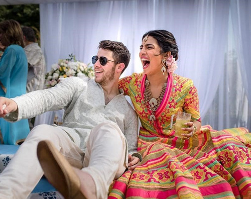 Wedding 4 Priyanka Chopra ha preso il cognome di Nick Jonas