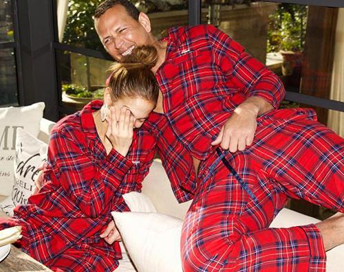 jlo2 Jennifer Lopez ha trascorso il Natale con Alex Rordiguez