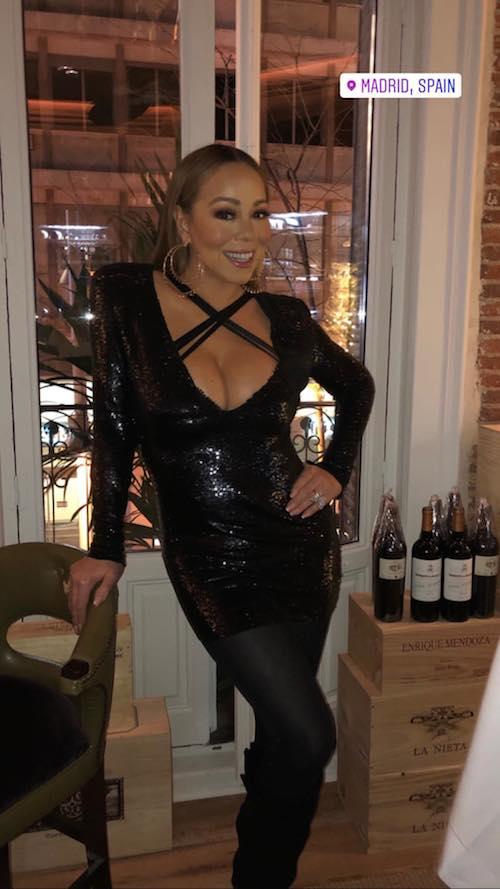 mariah carey 2 Mariah Carey festeggia la fine del tour