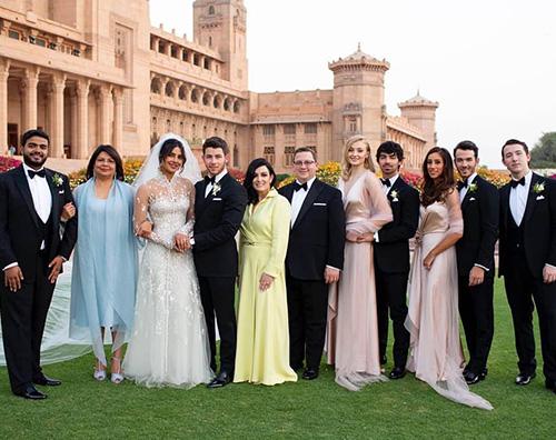 Nick Jonas Priyanka Chopra e Nick Jonas: ancora foto delle nozze