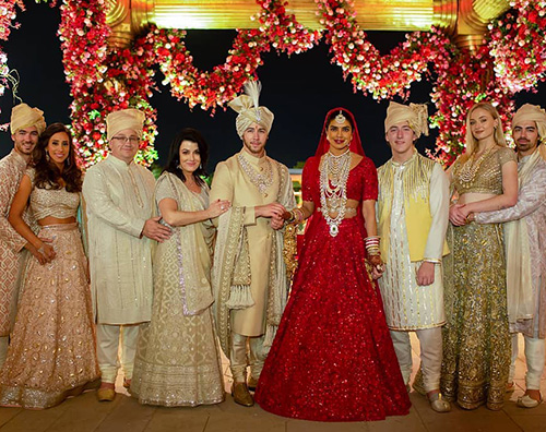 Nick Pri Priyanka Chopra e Nick Jonas: ancora foto delle nozze