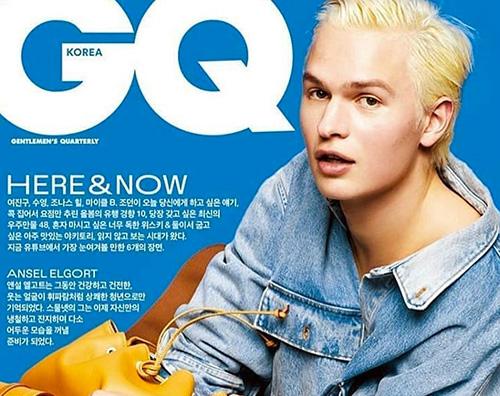 Ansel Elgort 2 Ansel Elgort sulla cover di GQ Korea