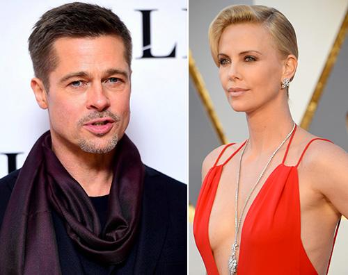 Charlize Theron Brad Pitt e Charlize Theron: nuova coppia?