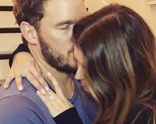 Chris Pratt Chris Pratt e Katherine Schwarzenegger sono fidanzati!