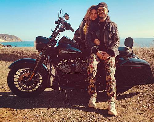 Heidi Klum 1 Heidi Klum, gita in moto con Tom Kaulitz