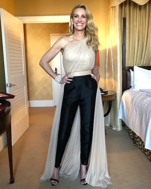 Julia Roberts Julia Roberts elegantissima ai Golden Globes